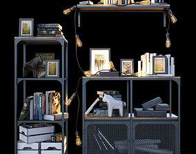 Shelves loft IKEA 3D