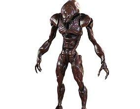 Monster Alien Invader 3D model