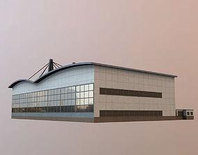 3D model EDDH Hangar2