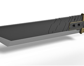 3D print model Buster sword of Zack Fair from Final 1
