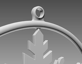 SnowFlake 3D print model decor