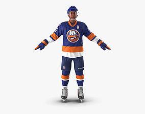 Hockey Player Islanders 3D model