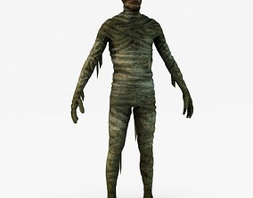 3D model game-ready Mummy monster