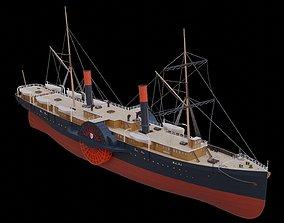 3D model SS Adriatic