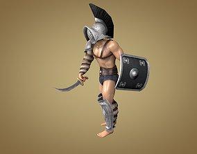 Gladiator Thraex 3D model