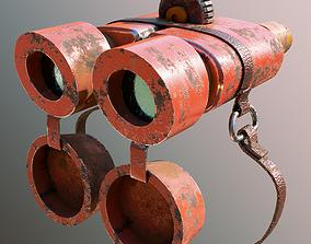 Dirty Binoculars 3D model