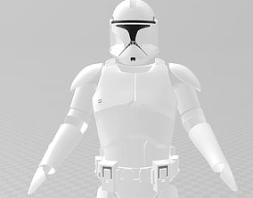 Star Wars Clone Trooper phase 1 Full 3D printable model
