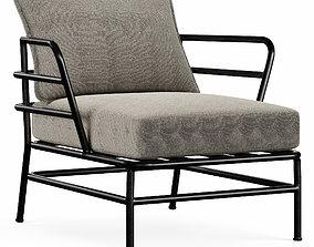 3D model MARELUZ armchair