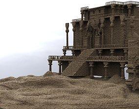3D Desert temple Dungeon