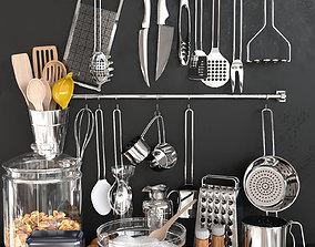 3D model interior Trivia for the kitchen 5