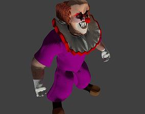 Weird Clown 3D model