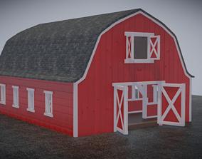 Barn With Inside 3D