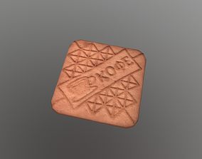 Cookie 3D model VR / AR ready