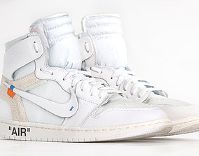 Jordan 1 Retro High Off-white 3DScan