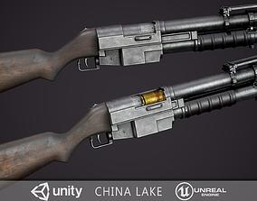3D model China Lake Grenade Launcher