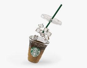 Ice mocha coffee 3D