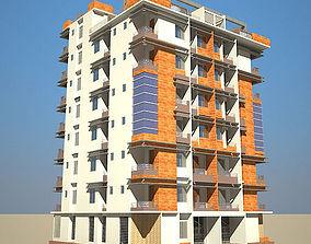 3D model High Definition Building 03