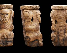 Tribal carving 3D model