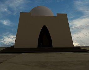 Mazar e Quaid 3D asset