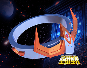 3D print model Ikki ring - Saint seiya