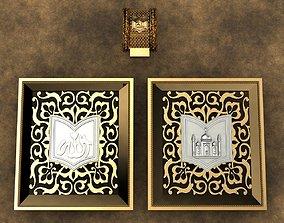 Pendant Koran 3D printable model