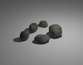 Rocks 3D model weight