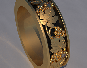 Wedding ring 482 3D print model