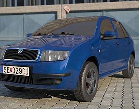 car Skoda fabia exterior model
