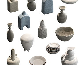 Pottery set v2 - 14 models