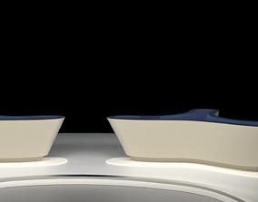 3D Tagesschau TV Studio