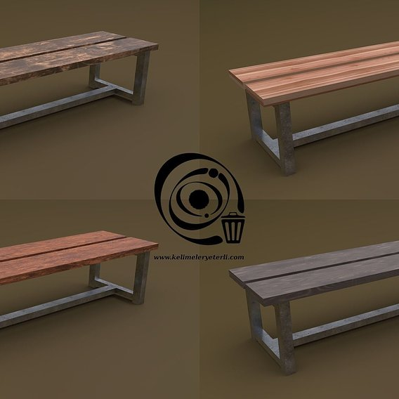 Bench 25 4in1 - 4 Texture 1 Model RR