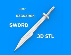 3D thor ragnarok sword