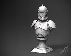 3D print model Clone Galaxy Trooper P1 - Classic Bust