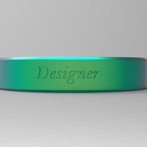 Designer Ring Green