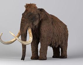 3D Mammoth-Rig-Maya