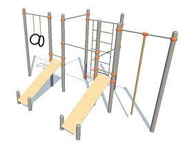 Training ground 3D model