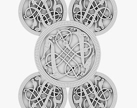 3D Celtic Ornament 19