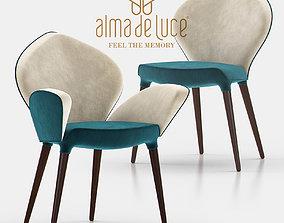 3D Poseidon Chair and Dining Armchair