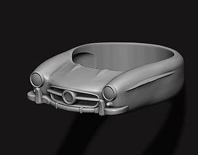 3D print model car ring 9