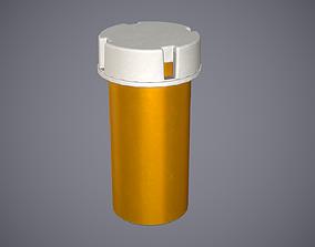 Pharmacy Bottle 3D asset PBR