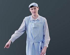 Felix 10143 - Standing Supermarket Man 3D asset