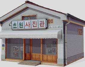 Korean Photo Studio 3D asset