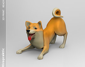 Doggie Shiba-inu 02 statuette 3D print model