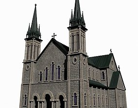 3D Church architecture