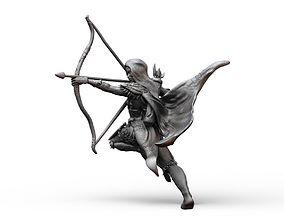 3D printable model Ranger Female Fantasy Dungeons and 1