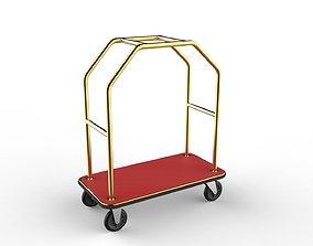 3D model internal-transport Hotel Trolley 09