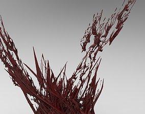 Shattered Blood Shards 3D model