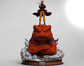 3D printable model Diorama Naruto Gamakichi