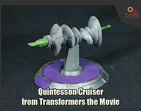 3D print model Quintesson Cruiser from Transformers the