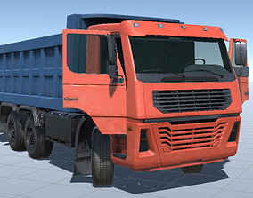 Industrial Dump Truck Pack for Unity3d low-poly